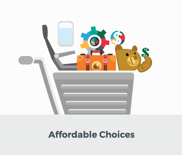 Affordable choices