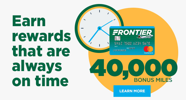 Take to the air and earn 40,000 bonus miles: Learn More