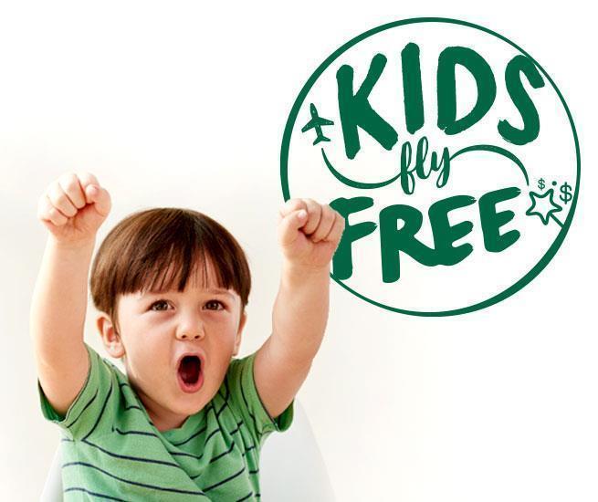 Kidsflyfree Frontier Airlines
